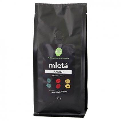 Fair trade mletá káva Kamerun, 250 g