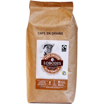 Fairtrade zrnková káva z Guatemaly 1 kg