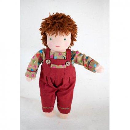 Fair trade ručně šitá látková panenka Dolls4Tibet Felix