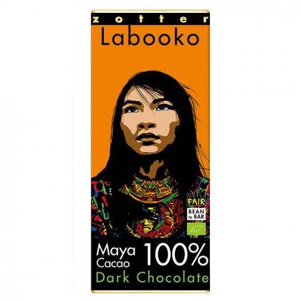 Fair trade bio hořká čokoláda Mayské kakao 100 % kakaa