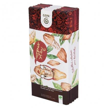 Fair trade dárkové balení bio hořkách čokolád No já smekám