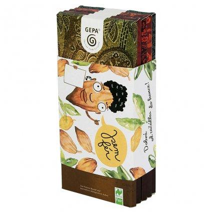 Fair trade dárkové balení bio čokolád Jsem fér