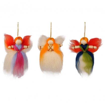 Fair trade tibetský andělíček dolls4tibet