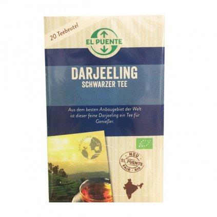 Bio černý čaj Darjeeling, porcovaný 20 x 1,8 g