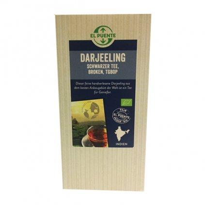 Bio sypaný černý čaj Darjeeling TGBOP, 120 g