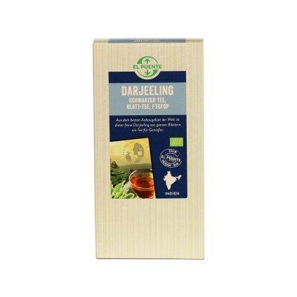 Bio sypaný černý čaj Darjeeling FTGFOP, 90 g