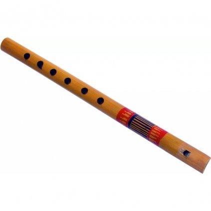 Fair trade bambusová malovaná flétna z Bangladéše