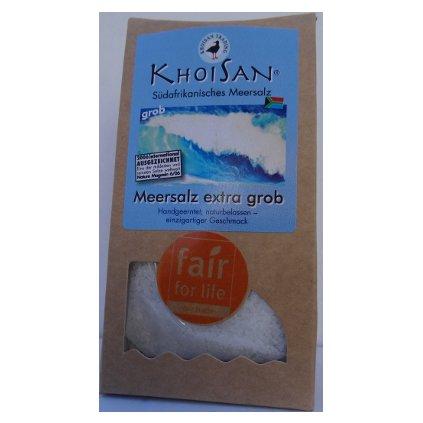 Mořská sůl hrubá z JAR, 150 g
