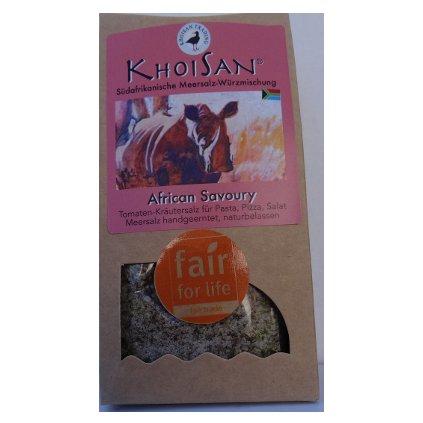 Mořská bylinná sůl pikantní Afrika hrubá, 125 g