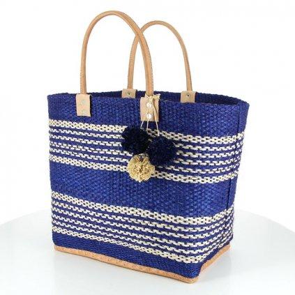Fair trade ručně vyrobená sisalová taška Sete z Madagaskaru