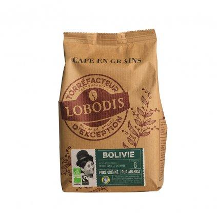 Bio zrnková káva z Bolívie, 500 g