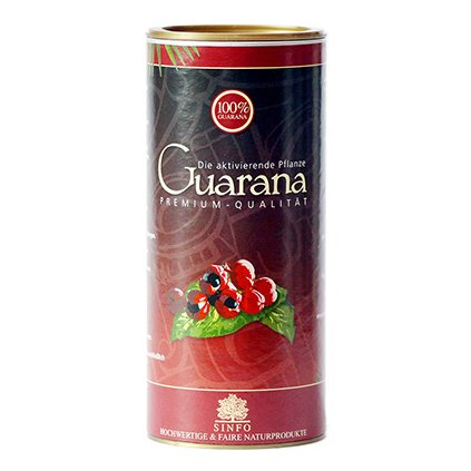 Bio Guarana bez slupek z Brazílie, 250 g
