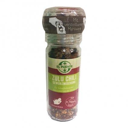 Mlýnek s africkým kořením Zulu chilli, 40 g