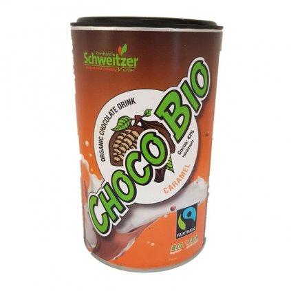 Bio horká čokoláda s karamelovým aroma, 250 g