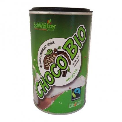 Bio horká čokoláda s lískooříškovým aroma, 250 g