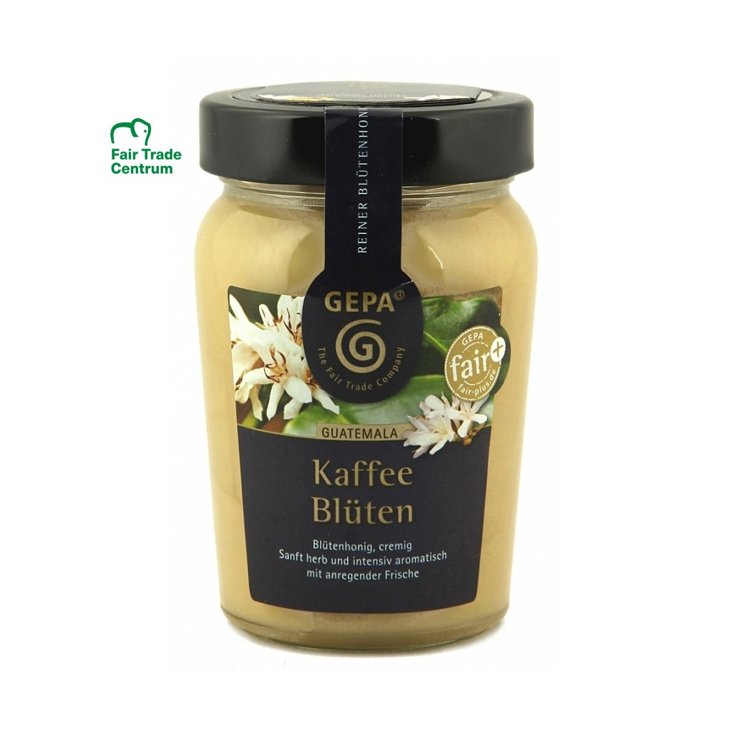 Fair trade med z kávovníků, 350 g