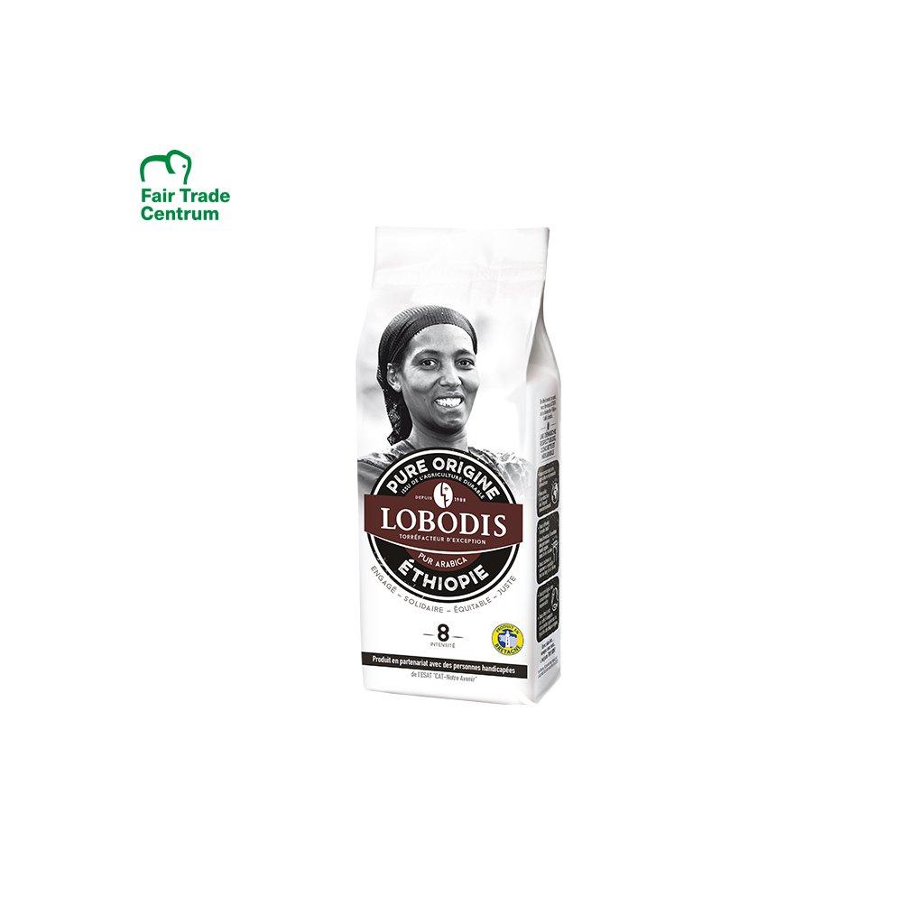 727 mleta kava z etiopie 250 g