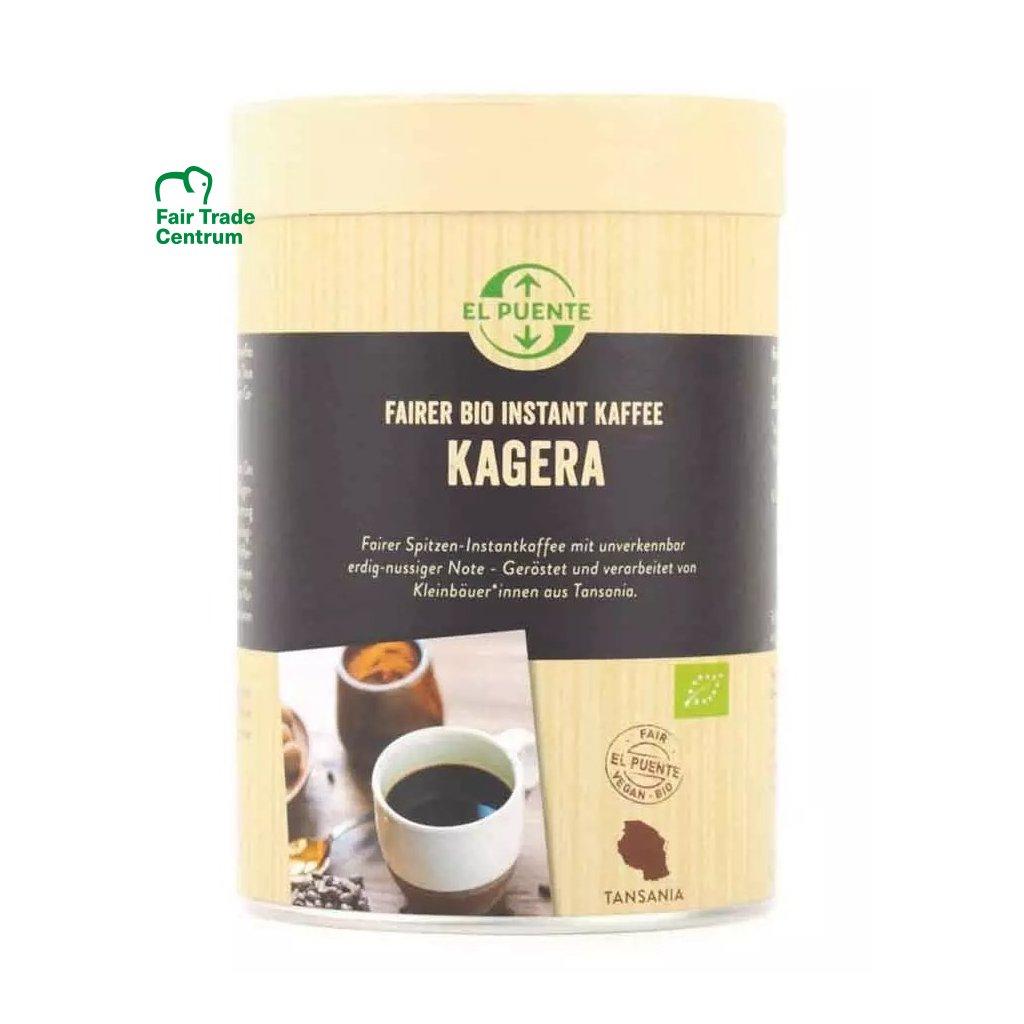 Fair trade bio instantná káva z Tanzánie, 120 g