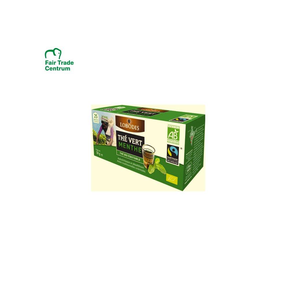 760 bio indicky zeleny caj s matou porcovany 25 x 2 g