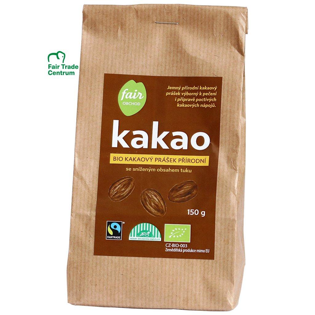 349 bio kakaovy prasek prirodni 150 g