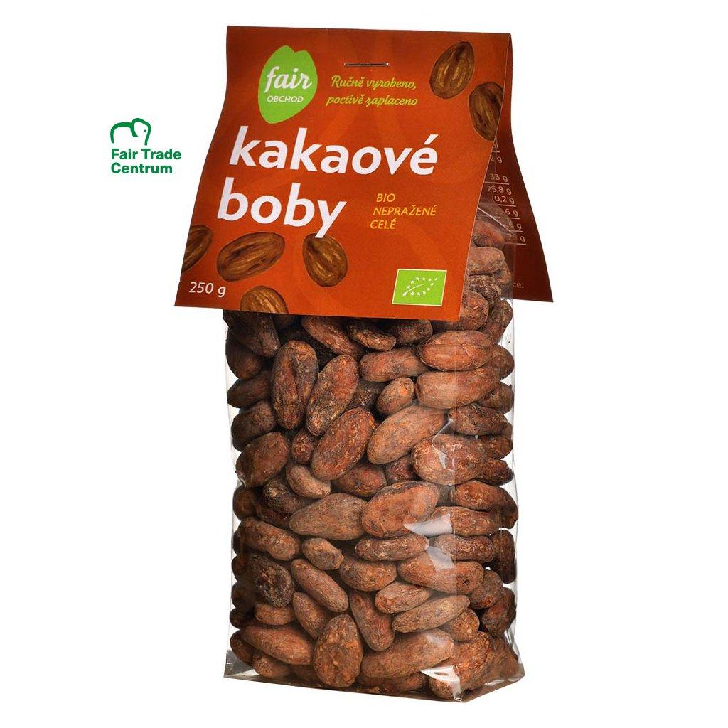 343 bio neprazene kakaove boby dominicana hispaniola 250 g