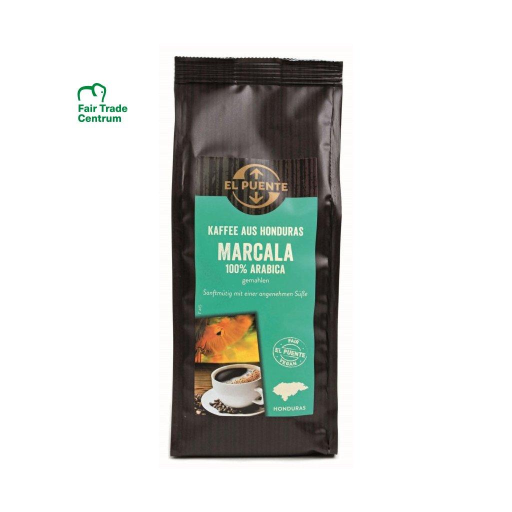Fair Trade výběrová bio mletá káva Marcala z Hondurasu, 250 g