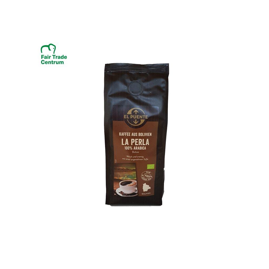 199 bio zrnkova kava la perla 250 g