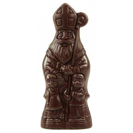Fairtrade bio mikuláš z hořké čokolády 70 %