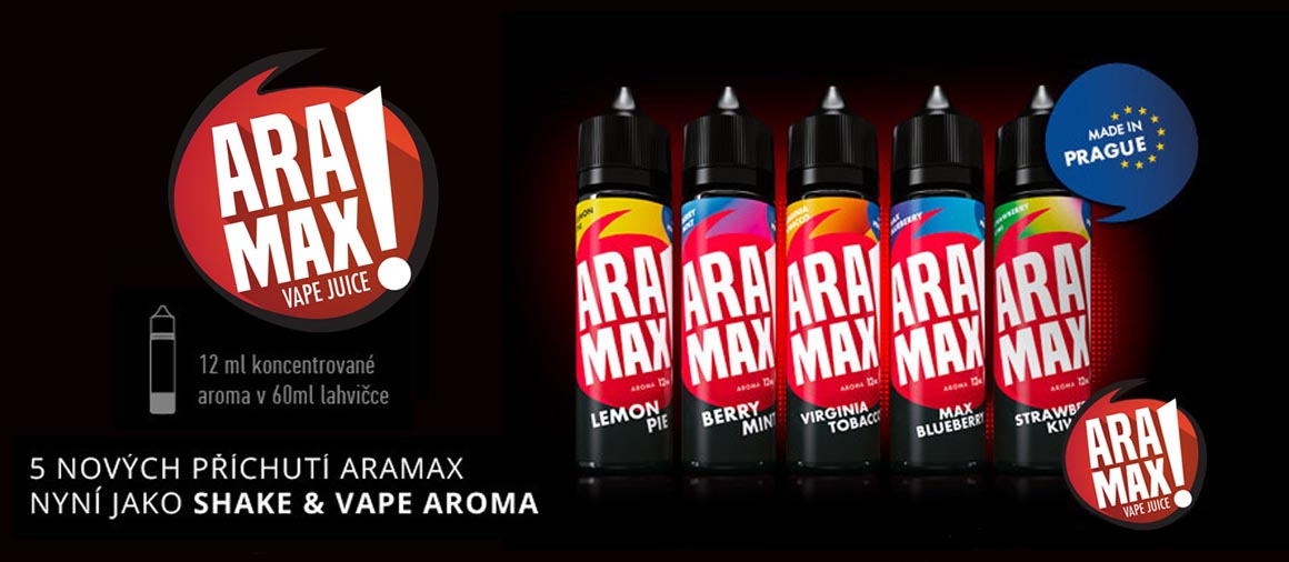 Aramax Shake and vape