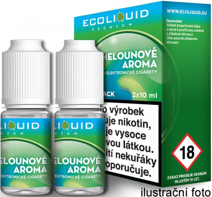 E-liquidy ECOLIQUID (2x10ml balení)
