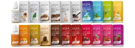 E-liquidy LIQUA