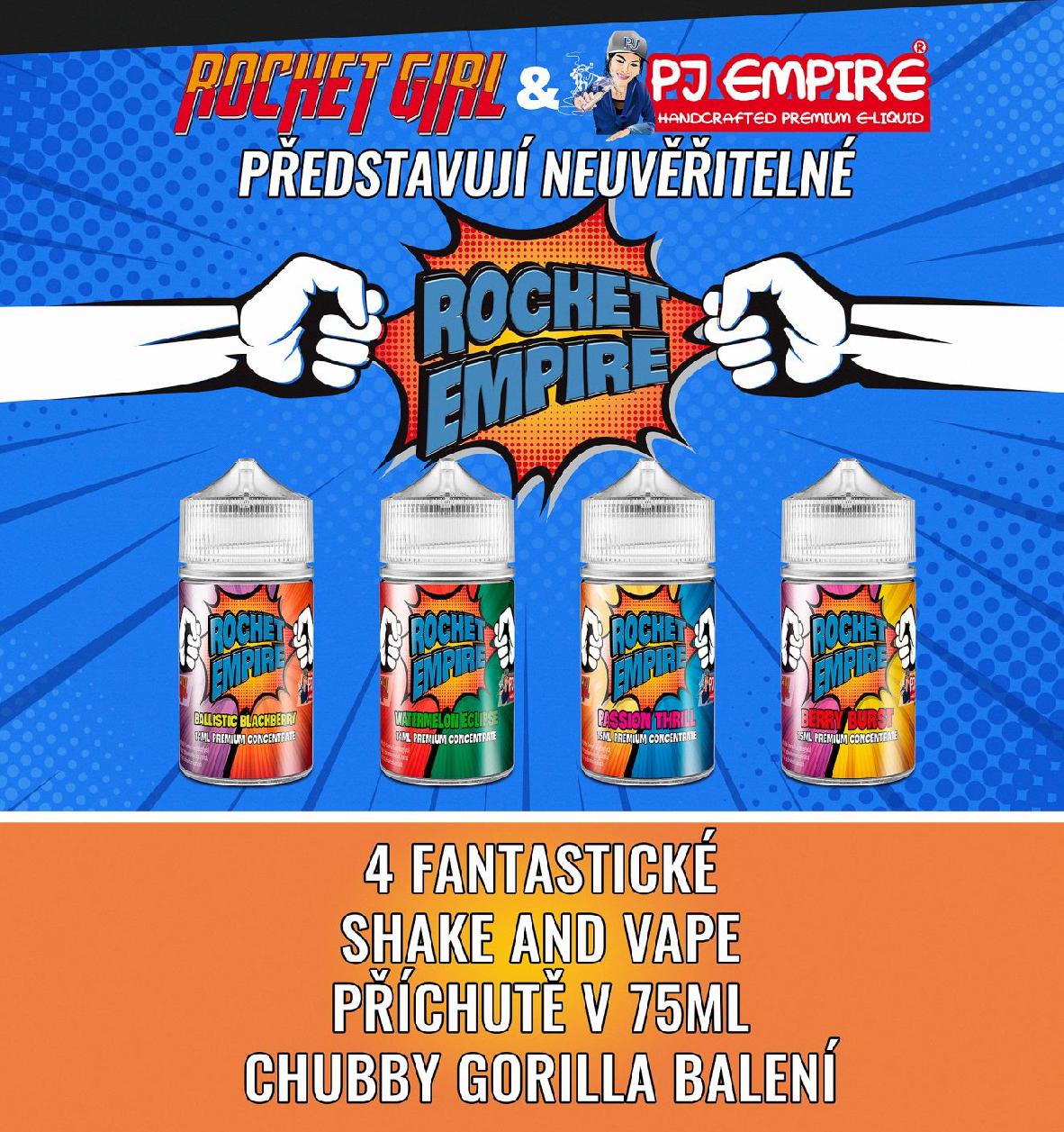 Rocket Empire Příchuť (Shake and vape)