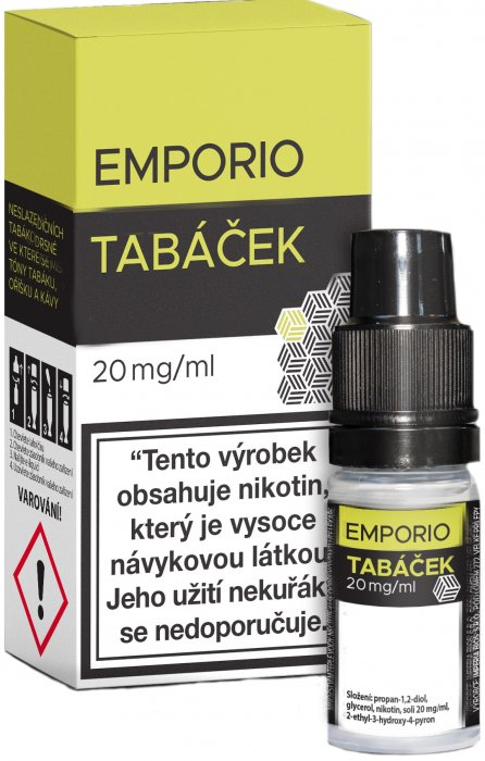 emporio-salt-tobacco-tabacek-10ml-20mg