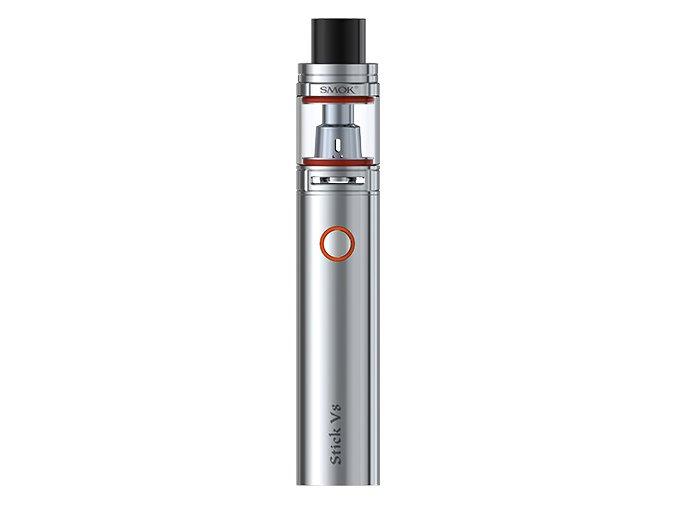 smoktech-stick-v8-elektronicka-cigareta-3000mah-stribrna