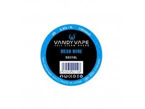 Mesh 150 SS316 - Vandy Vape (1,5m)
