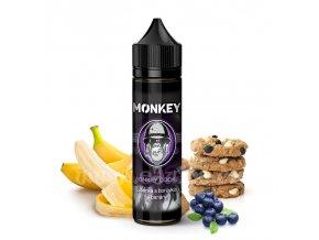 Příchuť Monkey S&V: Monkey Cookie (Sušenka s banánem a borůvkou) 12ml