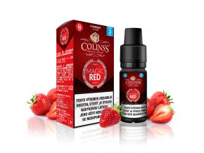 E-liquid Colinss 10ml / 0mg: Magic Red (Jahodová směs)