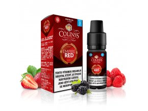 E-liquid Colinss 10ml / 12mg: Empire Red (Mix červených plodů)