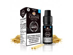 E-liquid Colinss 10ml / 18mg: Royal White (Cigaretový tabák)