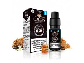 E-liquid Colinss 10ml / 18mg: Royal Silver (RY4 tabák)