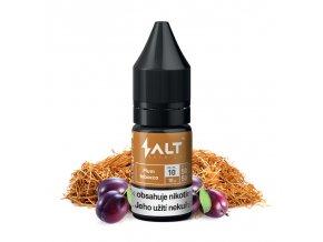E-liquid Salt Brew Co 10ml / 10mg: Plum Tobacco (Tabák se švestkou a vanilkou)