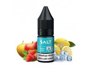 E-liquid Salt Brew Co 10ml / 20mg: Russian Winter (Ledové jablko, jahoda a citron)