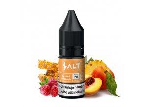 E-liquid Salt Brew Co 10ml / 20mg: Twisted Pineapple (Ananas, broskev a malina)