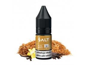 E-liquid Salt Brew Co 10ml / 20mg: Vanilla Tobacco (Tabák s vanilkou a karamelem)