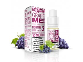E-liquid Pinky Vape 10ml / 0mg: Grape Me! (Hroznové víno)