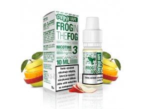 E-liquid Pinky Vape 10ml / 3mg: Frog in the Fog (Jablko)