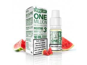 E-liquid Pinky Vape 10ml / 3mg: One Million (Meloun)