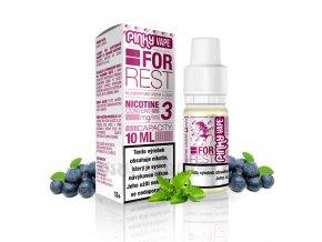 E-liquid Pinky Vape 10ml / 6mg: For Rest (Borůvka & máta)