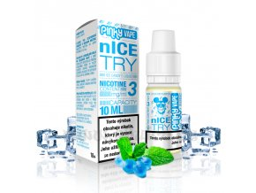 E-liquid Pinky Vape 10ml / 6mg: nIce Try (Ledový bonbon)