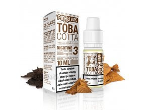 E-liquid Pinky Vape 10ml / 6mg: Tobacotta (Tabák)